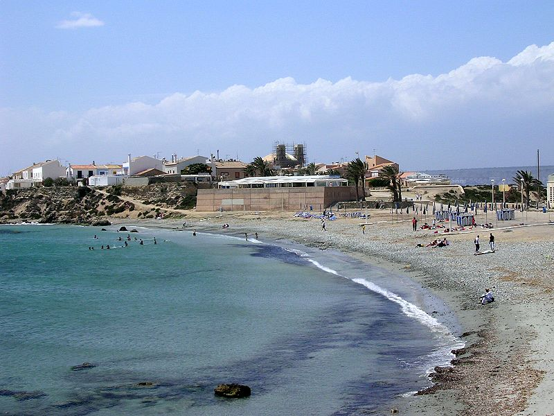 Beach of Tabarca Island, Alicante