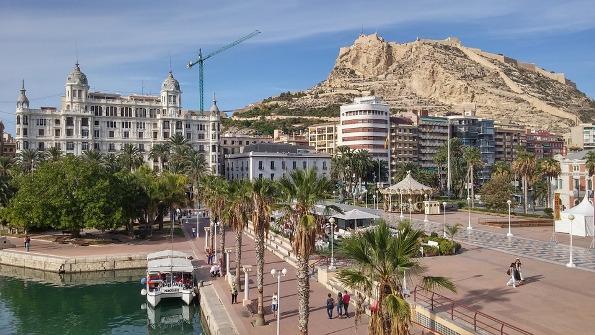 Santa Barbara Castle Alicante City